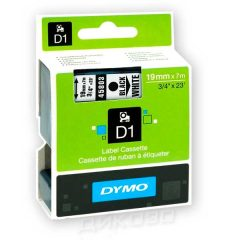 DYMO лента D1 Standart 19mm X 7m