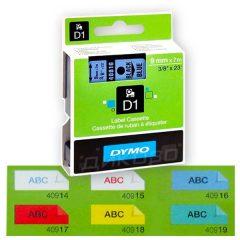 Kaseti s lenti Dymo D1 Standart 9mmX7m Color