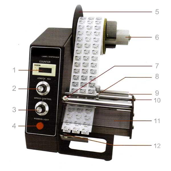 Афтоматичен апликатор за етикети