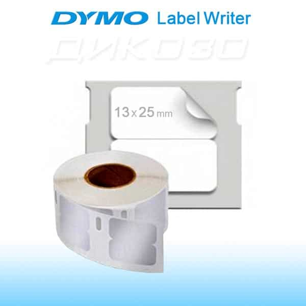 Labels DYMO LabelWriter 13x25mm