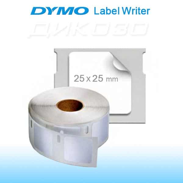 Labels DYMO LabelWriter 25x25mm