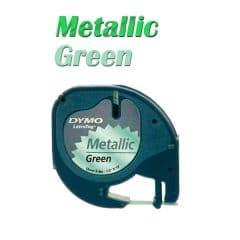 Ленти DYMO Омега 9ммХ3м Зелен металик