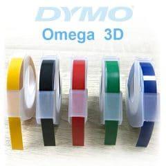 Касети с ленти за Dymo Омега, релефен 3D печат