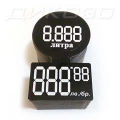 Етикети за бутилки Черен кант 888
