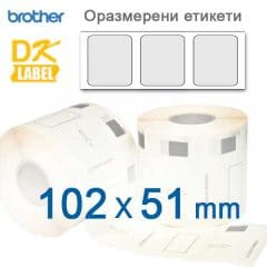 Brother labels 11240 102x51mm