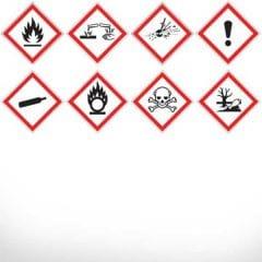 Етикети GHS опасност