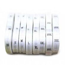 Pechat na Tekstilni etiketi za drehi ot Tafta i Saten