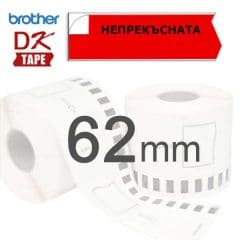 Brother DK 62mm red
